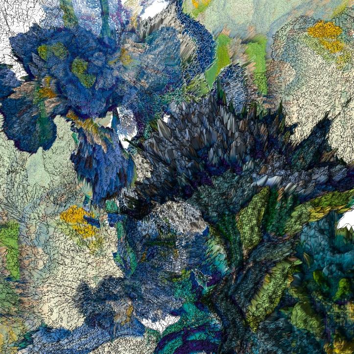 Van Gogh's Irises (2020)